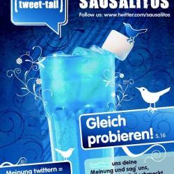 So funktioniert Marketing heute: SAUSALITOS macht Twitter zum Cocktail – und verschenkt Gutscheine gegen Tweets!
