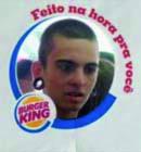 Gesicht auf Burger – Nette Marketing-Kampagne von Burger King in Brasilien