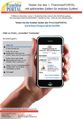 Das FranchisePORTAL ist ab sofort auch mobil!