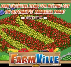 McDonald's war ein Tag Farmville-Nachbar von 70 Millionen Spielern