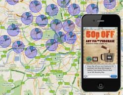SMS-Gutscheine auf's Handy je nach Aufenthaltsort