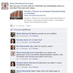 Franchisenehmer-Suche über Facebook – ein Beispiel