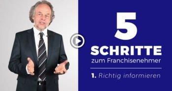 Neue Playlist: 5 Schritte zum erfolgreichen Franchise-Nehmer